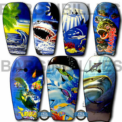 NEW 40 inch Large Beach Bodyboard Sea Surf Pool Surfing Swimming Body Surfboard