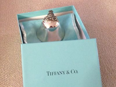 Tiffany & Co. Sterling Silver Dinner Table Bell Pineapple Top