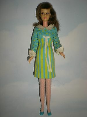 1966 Francie Doll in 1966 #1251 It's a Date fashion with HTF hose
