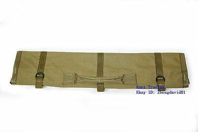 USMC Machine Gun Barrel Rifle Carrying Tactical Case Bag Coyote New