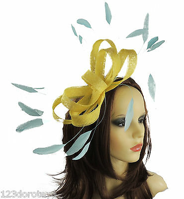 hats /& craft use For fascinators HA057 Gathered sinamay fascinator//hat base