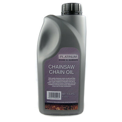 1 Litre Of Saw Chain Oil Ideal For Petrol & Electric Chainsaws