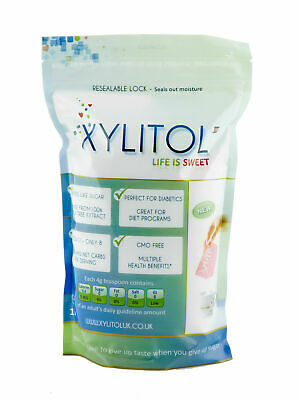 Xylitol Uk - Natural Sweetener Pouch 1kg