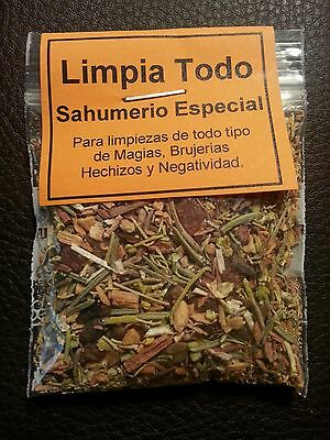 ☆ Limpia Todo ☆ Sahumerio Especial ☆ Magic Herbal Incense Ritualiced ☆