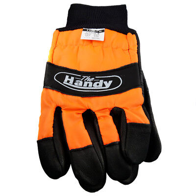 Chainsaw Protective L Large Size 10 Gloves Professional Quality