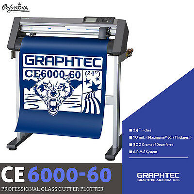 GRAPHTEC CE6000-60 Vinyl Cutter Plotter+FREE Stand & FREE Shipping