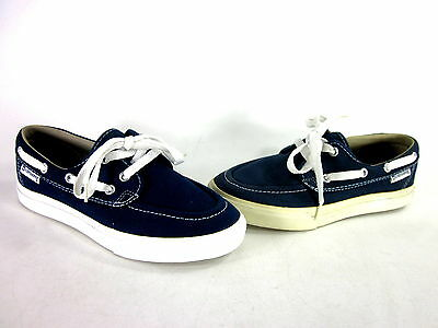 cdd9dda44288 Converse Sea Star Ox Boat Sneaker Navy white Canvas Us Size Men s 5  Wmn s