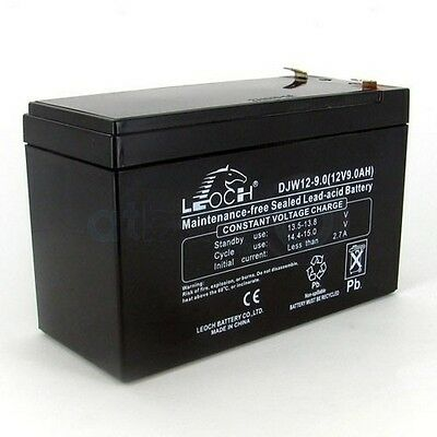 12V 9AH Battery Suit Ride on Car Bike Train etc