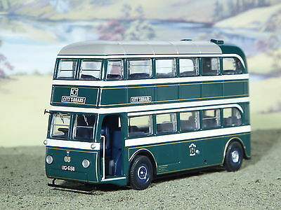 Corgi OOC Vintage Bus 1:76 Ltd Ed OO Gauge AEC Q Double Decker Leeds Tramways