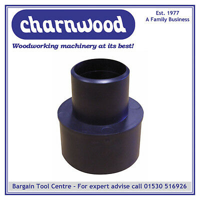 CHARNWOOD 75/50RC DUST EXTRACTION REDUCING CONE 75mm to 50mm