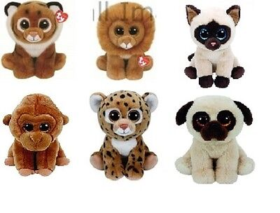Ty Classic Collection Soft Plush Animal Toys - Choose Your Design