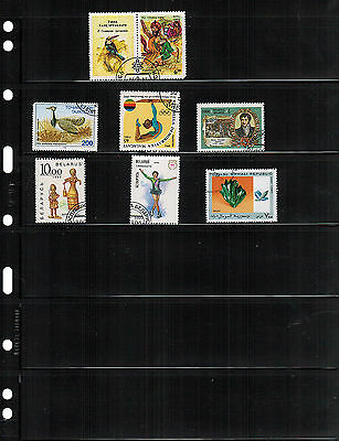 (25) VARIO 6S Pocket Pages for Stamp, Currency & Other Collecting, Black