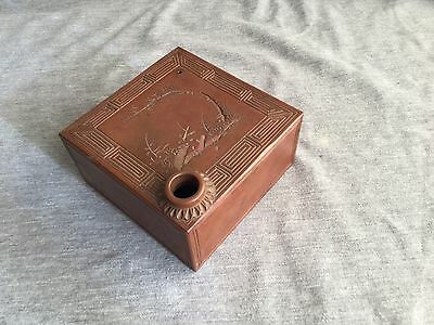 A Chinese Pottery Brush Washer