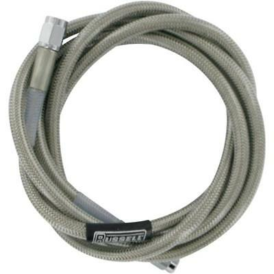 Russell Universal Braided Stainless Steel Brake Line  64in R58312S*