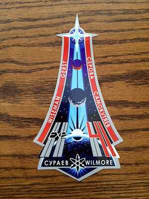 Official NASA International Space Station ISS Expedition 41 Patch Sticker Decal