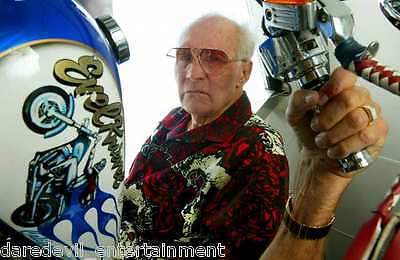 EVEL KNIEVEL Personally owned and WORN Dragonfly shirt- Own a piece of history!