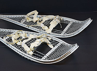 Magline Snow shoes Military Army Magnesium White Snowshoes w/ Bindings NEW