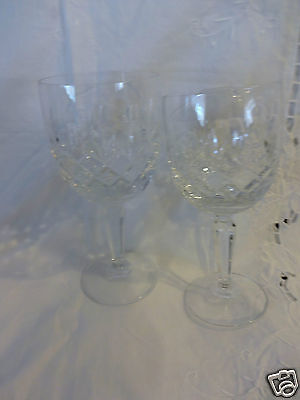 "MIKASA SET OF 2  WATER GLASSES  MELODY (OLDER)  7 1/4"" HIGH"