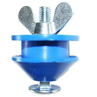 Morgan Blue Chain Keeper AR00059 butter fly screw attachment Blue Nylon roller
