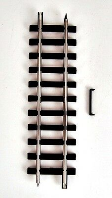 Bachmann G Scale Track Brand New Straight Hollow Steel - By the piece!