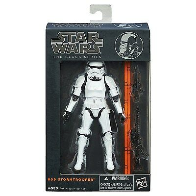 NEW Star Wars Stormtrooper Action Figure Hasbro 6 Inch Black Series Collectible