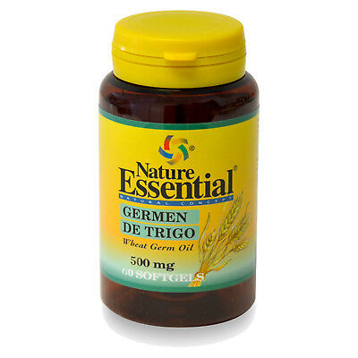 ACEITE DE GERMEN DE TRIGO 500 mg. 60 Perlas - NATURE ESSENTIAL -