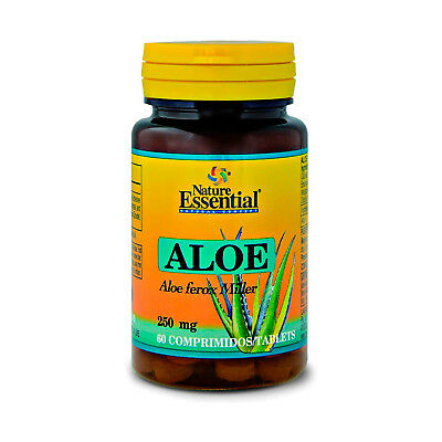 ALOE VERA 500 mg. 60 Comprimidos - NATURE ESSENTIAL -