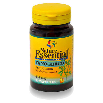 FENOGRECO 400 mg. 50 Cápsulas - NATURE ESSENTIAL - Anabolizante Natural