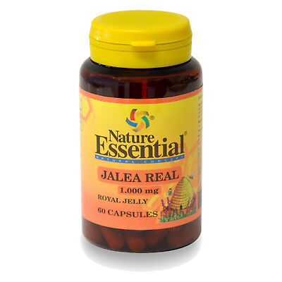 JALEA REAL 1000 mg. 60 Cápsulas - NATURE ESSENTIAL - Royal Yelly