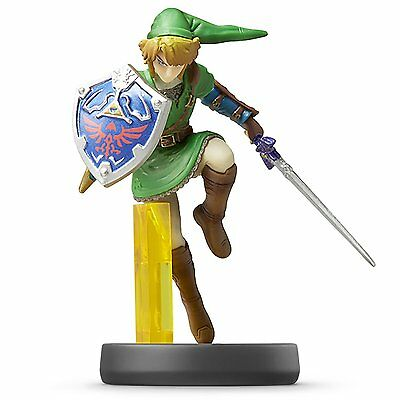 NEW Nintendo 3DS Wii U amiibo link Figure Super Smash Brothers Japan Import F/S