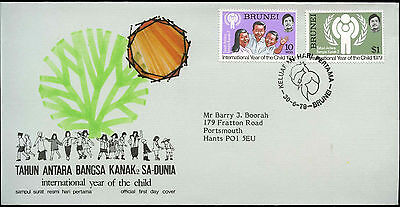 Brunei 1979 Year Of The Child FDC First Day Cover #C16115
