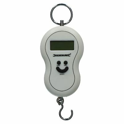Electronic Digital Hanging Postage Scales luggage Fishing Travel Holliday Sil1