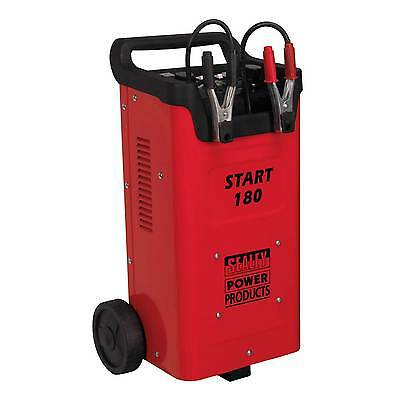 Sealey Professional Garage Starter/Charger 180/45Amp 12/24V 230V - START180