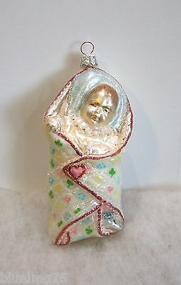 Slavic Treasures Ornament A Newborn Miracle MINT RL3