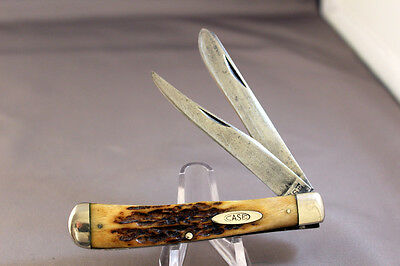 CASE TESTED 5254 Trapper, Stag Handles, 1920 - 1940, Free Mailing to USA