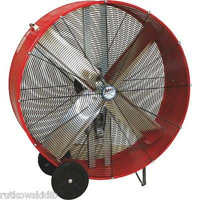 Venta MaxxAir 42-inch 120V RED High Velocity Belt Drive Drum Fan