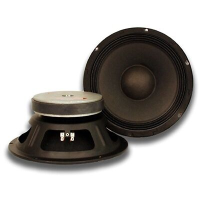 """PAIR of 10"""" Raw WOOFERS Speakers Drivers PA DJ Replacement PRO Audio 16 ohms"""