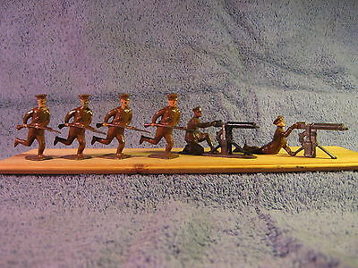 Johillco Infantry Soldiers .......All 6 Pieces