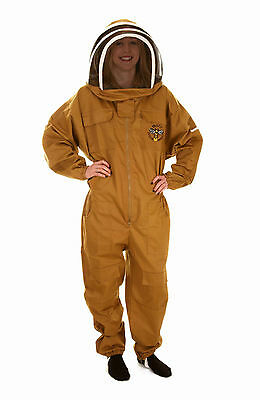 Beekeepers Olive Fencing Veil Suit - Size: XL