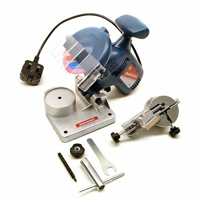 Electric Chainsaw Blade Chain Sharpener Sharpen Sharpening Tool Saw Kit Sil177