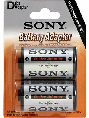 SONY Battery Adapter D-Size SDB2C Pack 2 ORIGINAL - Brand New