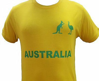 Australian Souvenir Fan Supporter Shirt Men / Women 100% Cotton