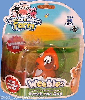 Weebles Patch The Dog From Weebledown Farm New