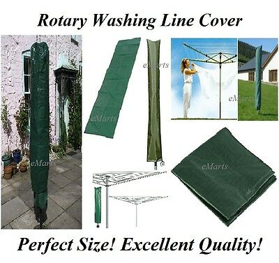 ROTARY WASHING LINE COVER Garden Clothes Airer Drier