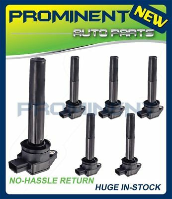 Set of 6 NEW IGNITION COIL For 2004-2008 Mitsubishi Endeavor Galant UF481 C1505