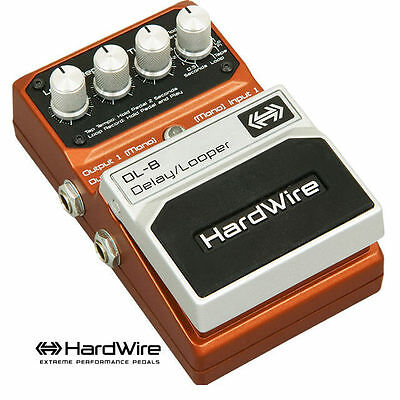Digitech Hardwire Dl8 Delay Looper Guitar Effects Pedal