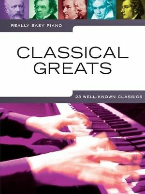 Really Easy - Classical Greats Piano Book *NEW* Sheet Music, 23 Well Known