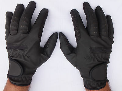 Horse Riding Gloves Synthetic Leather Sereno Extra Comfortable