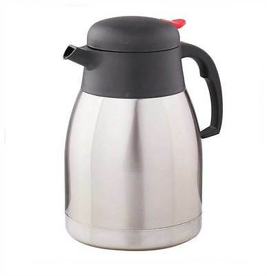 2L Stainless Steel Double Wall Isolating Jug Vacuum Thermos Flask Hot Or Cold