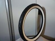 Garelli, Mobylette,Motobecane, Puch Whitewall Moped Tyre Tire 2.25-17 (21x2.25)